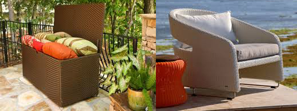 Decorating With Modern Wicker Patio Furniture Patio Design Trends