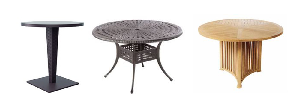 what kinds of table can i use as patio accent tables